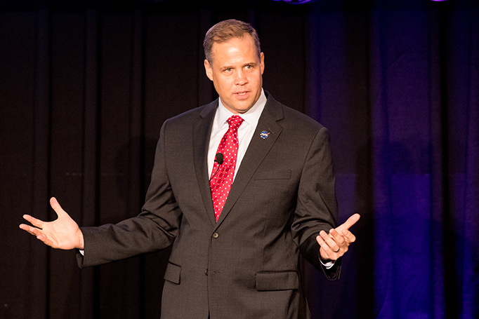 NASA Administrator Jim Bridenstine discusses the importance of intellectual property in continuing NASA's mission.