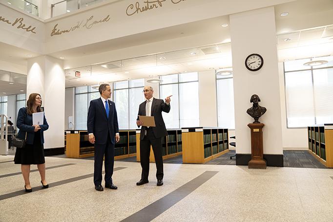 Deputy Secretary Graves visits USPTO headquarters