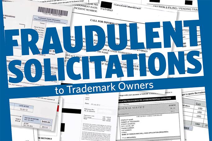 Fraudulent solicitations logo
