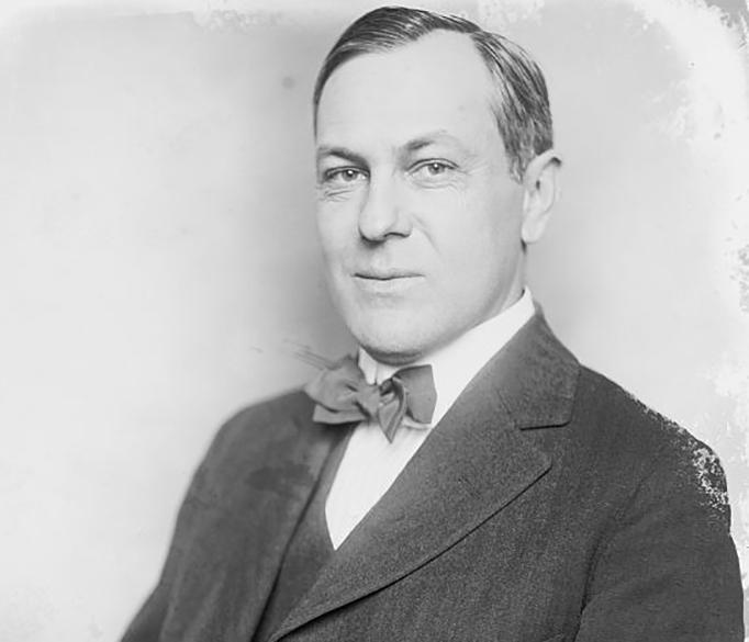 Portrait of Fritz Lanham