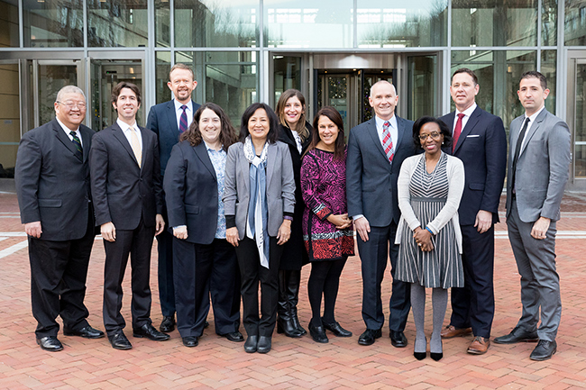 USPTO IP attaches visit the United States in December 2018