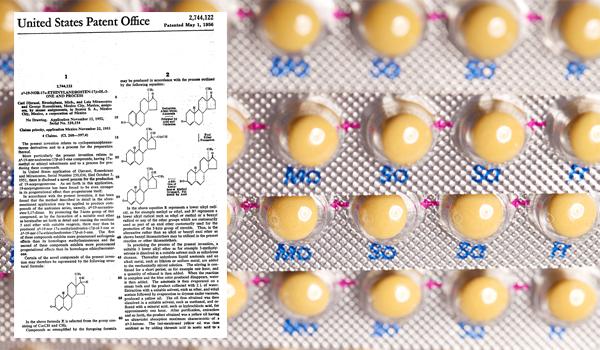 Oral contraceptives medicine packet