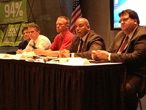 Speakers panel at the Kansas Regional Independent Inventors Conference.