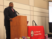 Mayor Cedric B. Glover at the Women's Entrepreneurship Symposium