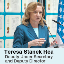 Terry Stanek Rea (Acting), Under Secretary and Director