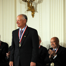 David N. Cutler receives medal