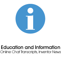 Education and Information, Online Chat Transcripts, Inventor News