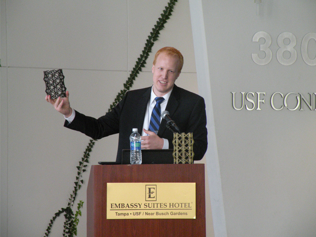 Mark Jensen, a speaker at the Florida Independent Inventos Conference