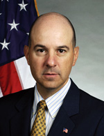 Photo of David J. Kappos, Under Secretary of Commerce for Intellectual Property and Director of the United States Patent and Trademark Office.