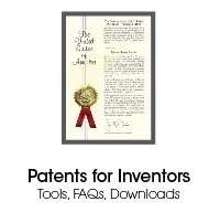 Patents for Inventors, Tools, FAQs, Downloads