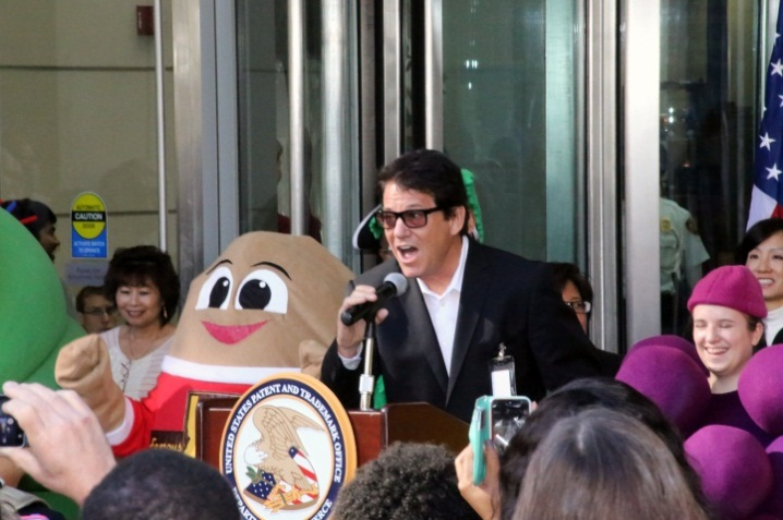 Trademark Expo 2014, opening ceremony, Anson Williams