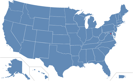 Inventor Resources By State USPTO - Us map of private property
