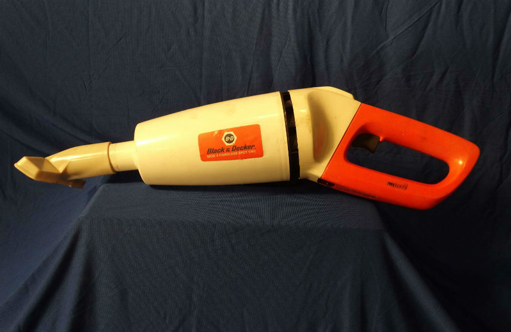 Image: The 'shop-vac' component of the mod 4 Power Handle Cordless System