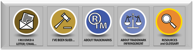 trademark litigation icons