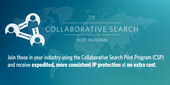 Our Collaborative Search Pilot fast tracks patent applications cross filed with the USPTO and the JPO or KPO.