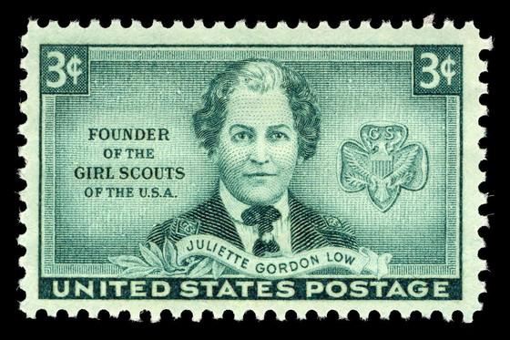 Juliette Gordon Low postage stamp