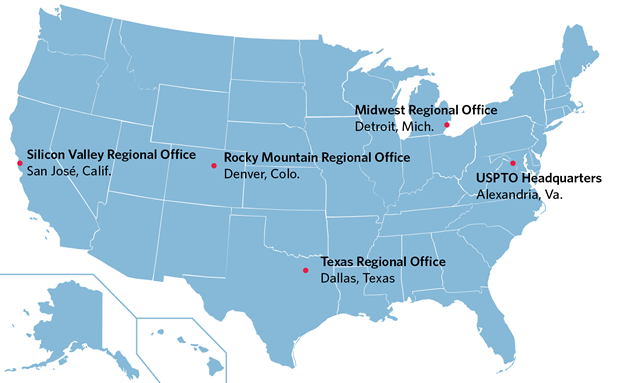 USPTO Locations USPTO