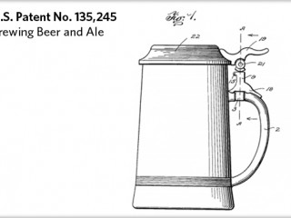 Patent drawing - brewing beer and ale