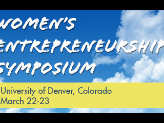 Women's Entrepreneurship Symposium