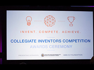 Collegiate Inventors Competition Awards Ceremony banner