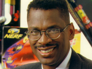 Lonnie Johnson as the inventor of the Super Soaker