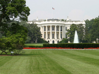 Front lawn of White House