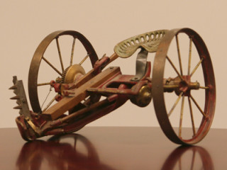 Patent Model of a two wheeled object