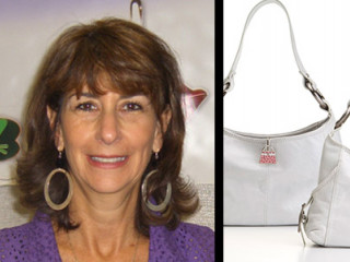 Sandy Stein and her invention the Finders Key Purse
