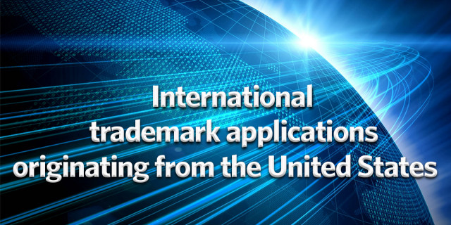 International trademark applications originating from the United States