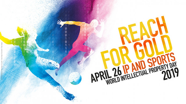 Reach for Gold - April 26 - IP and Sports - World Intellectual Property Day 2019