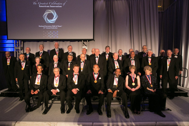 The 2015 National Inventors Hall of Fame Inductees