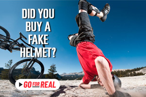 Did you buy a fake helmet? GOforREAL