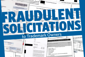 Fraudulent solicitations to trademark owners