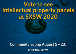 Vote to see intellectual property panels at SXSW 2020