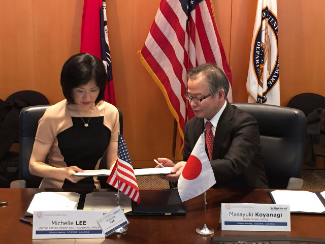 Michelle K. Lee signs MOU with JPO