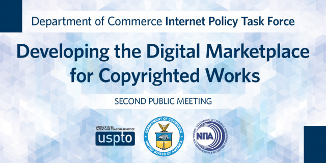 Developing the digital marketplace for copyrighted works