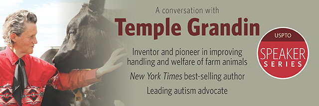 A conversation with Temple Grandin. Inventor and pioneer in improving handling and welfare of farm animals. New York Times best-selling author. Leading autism advocate. Part of the USPTO Speaker Series.