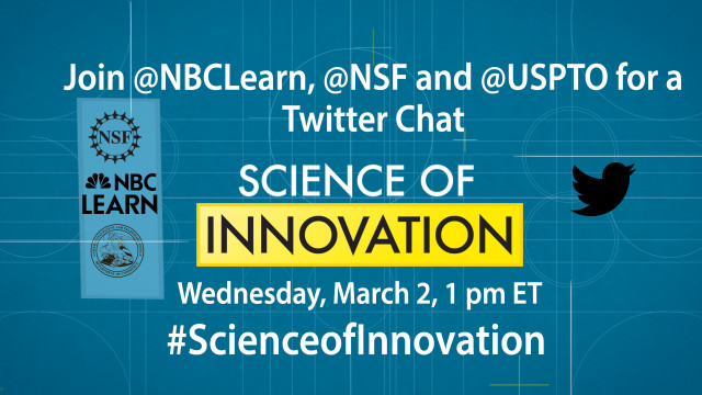 Science of Innovation Twitter Chat
