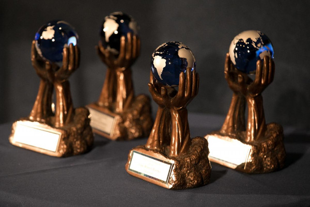 Patents for Humanity trophies