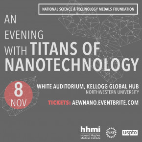 Flyer for An Evening With Titans of Nanotechnology