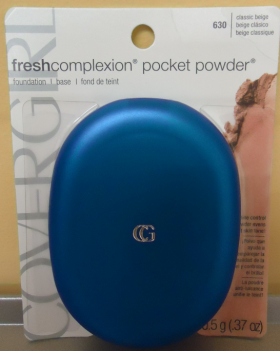 Cover Girls specimen shows trademark use for cosmetics. The specimen is a photograph of a package for a cosmetic product. The trademark is shown prominently on the packaging.