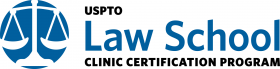 USPTO law school clinic certification program logo