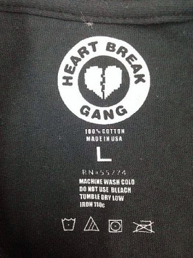 Trademark example- clothing label
