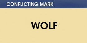 Conflicting mark: Wolf
