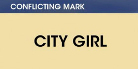 Conflicting mark -- City Girl