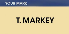 Your mark -- T. Markey