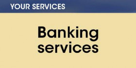 Your services -- Banking services