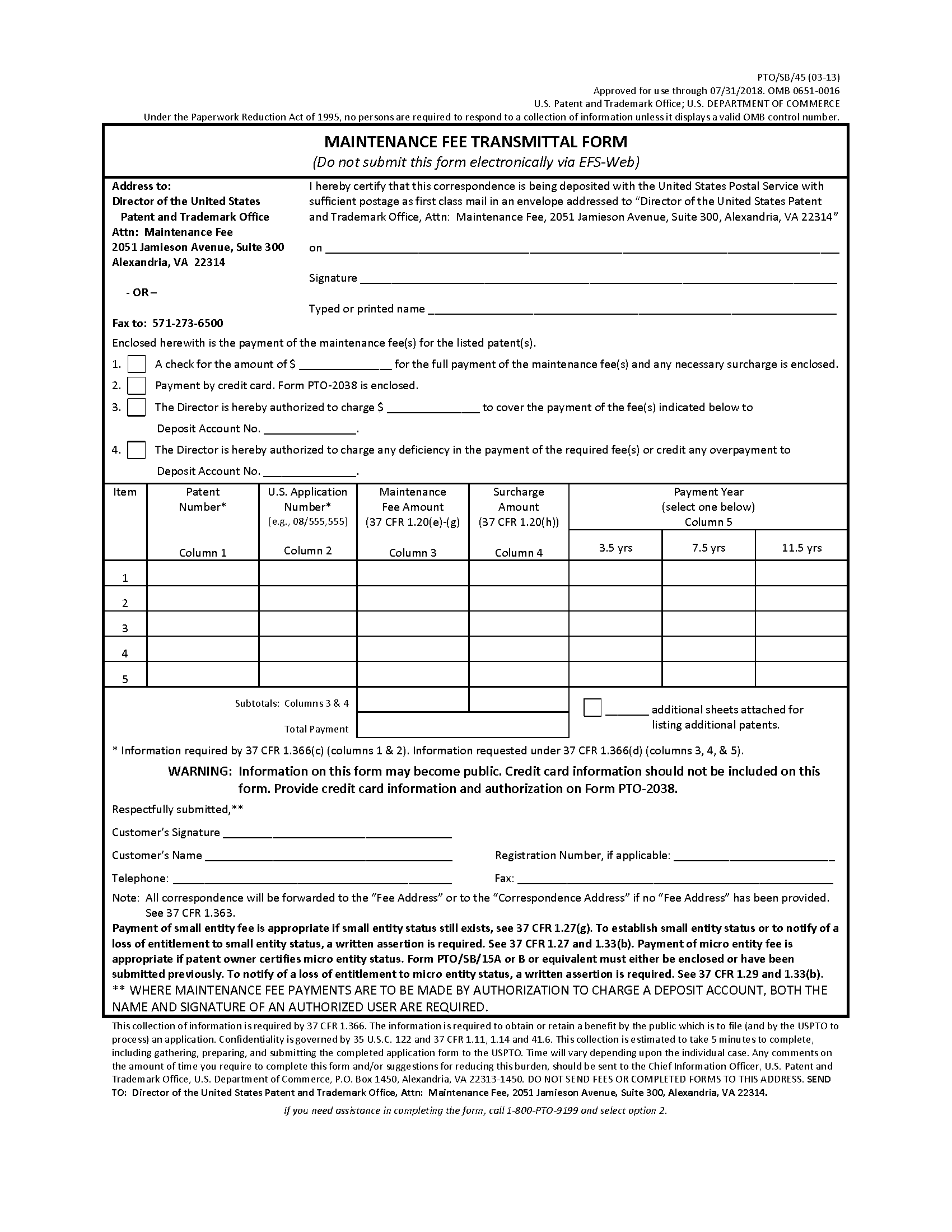 2595Forms – Official Change of Address Form